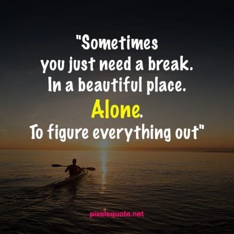 Alone Quotes Image.