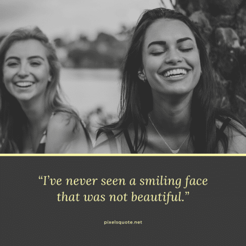 Beautiful Smiling Quotes.