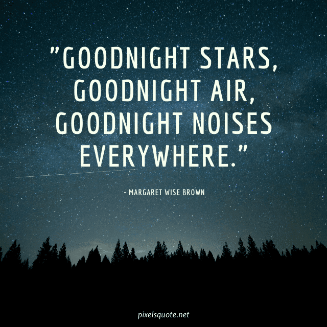 Best good night quotes image.