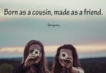 Cousin Best Friend Quote