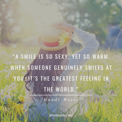 Cute Smile Quotes.