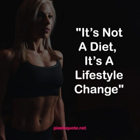 Diet Weight Loss Quotes.