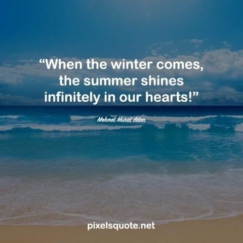 End of Summer Quotes.