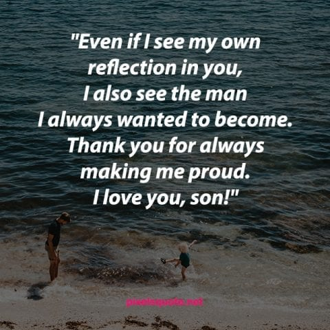 Father Love Son Quote