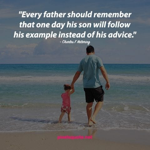 Father Son Quotes Image