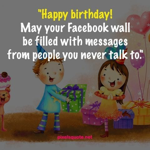 Funny Birthday Quotes Image