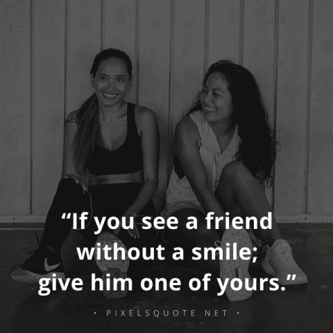 Give Smile Quotes.