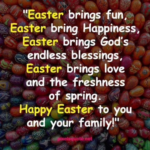 Happy Easter Day Quotes