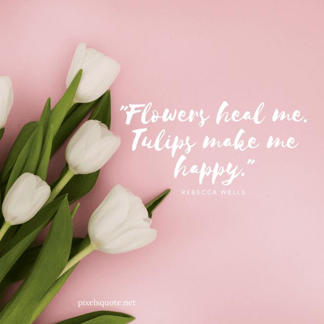 Happy Tulip Quotes.