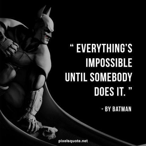 Inspiring Batman Quotes.