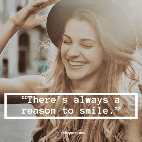 Keep Always Smile Quotes.