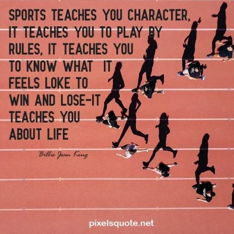 Meaningful sport quotes.