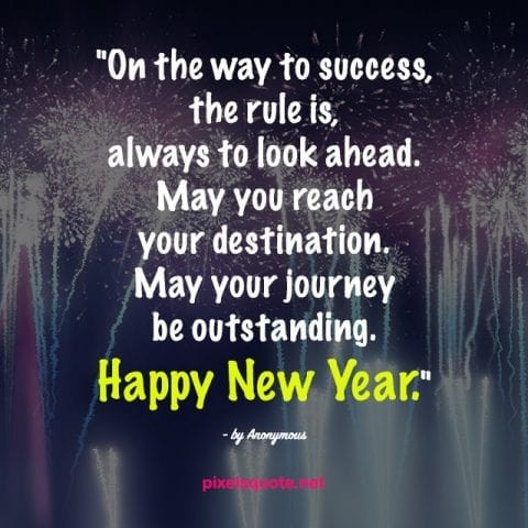 Quotes about New Year 1.